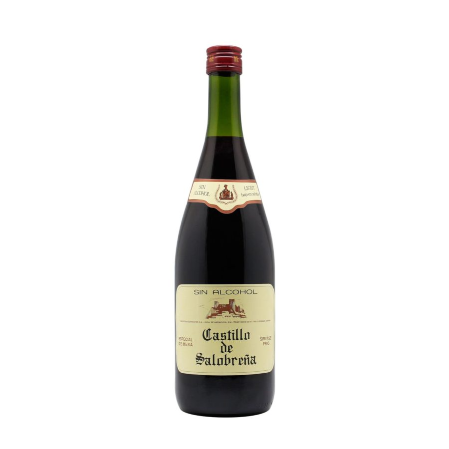 One litre bottle of Castillo de Salobreña Red Drink, a drink known as non-alcoholic grape and apple must, excellent to accompany meals or as an aperitif. Non-carbonated, alcohol-free, gluten-free and low in sugar, the ideal alternative for many people to traditional alcoholic drinks.