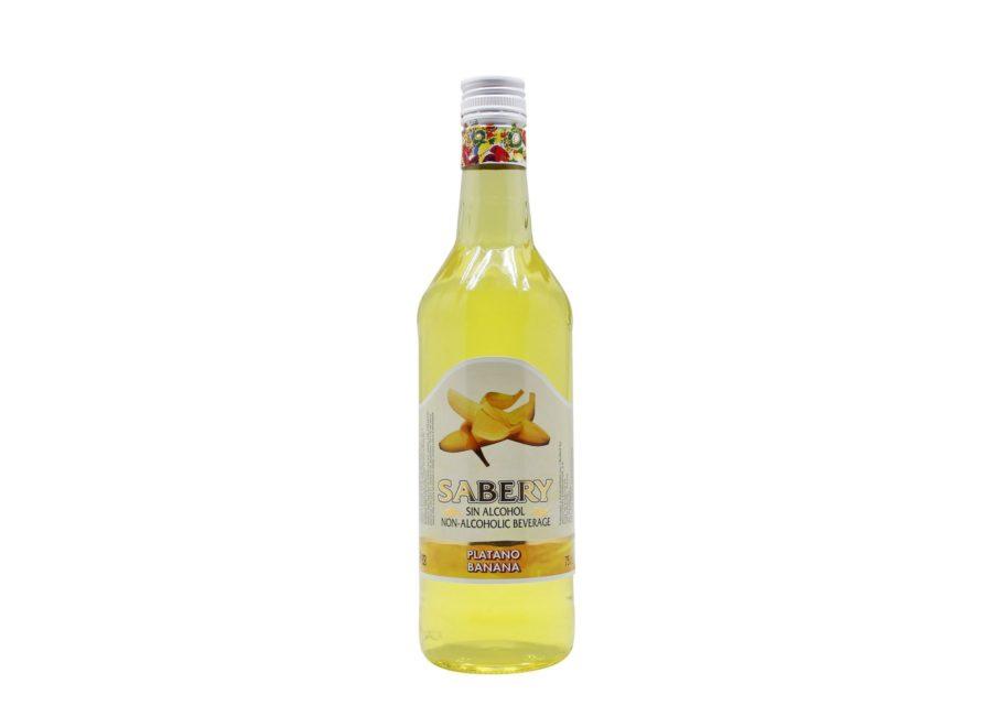 Botella de 75cl de Sabery Plátano, aperitivo sin alcohol al mejor precio