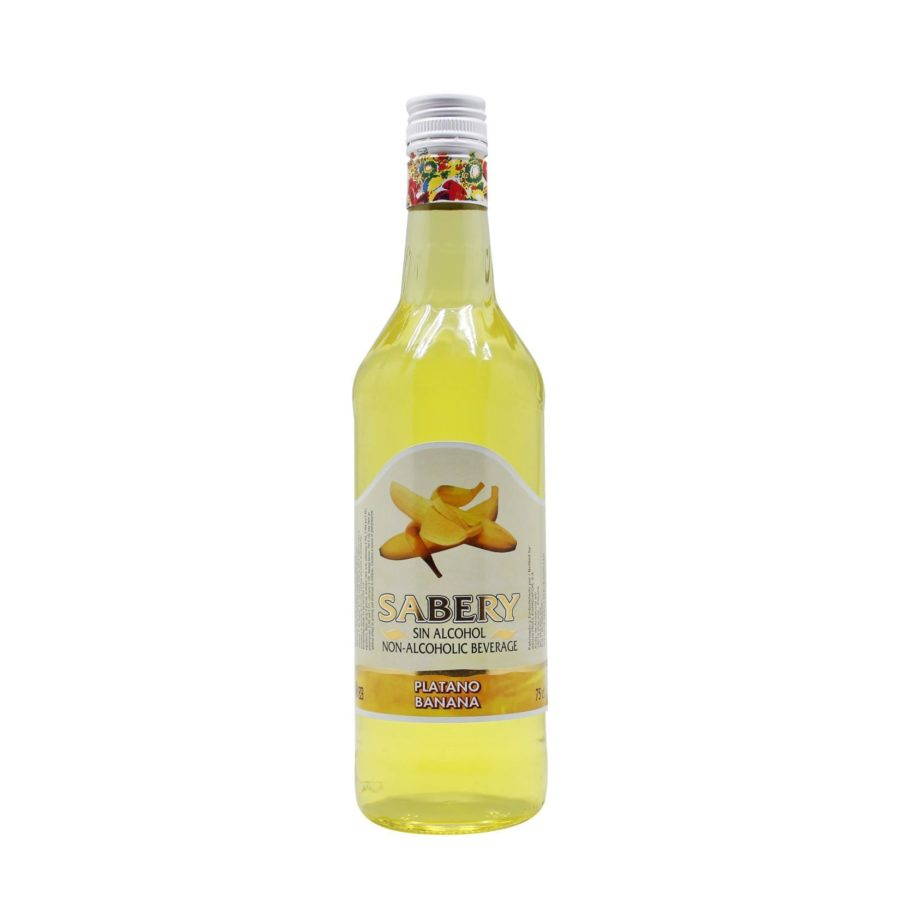 75cl bottle of Sabery Banana, alcohol-free aperitif at the best Price