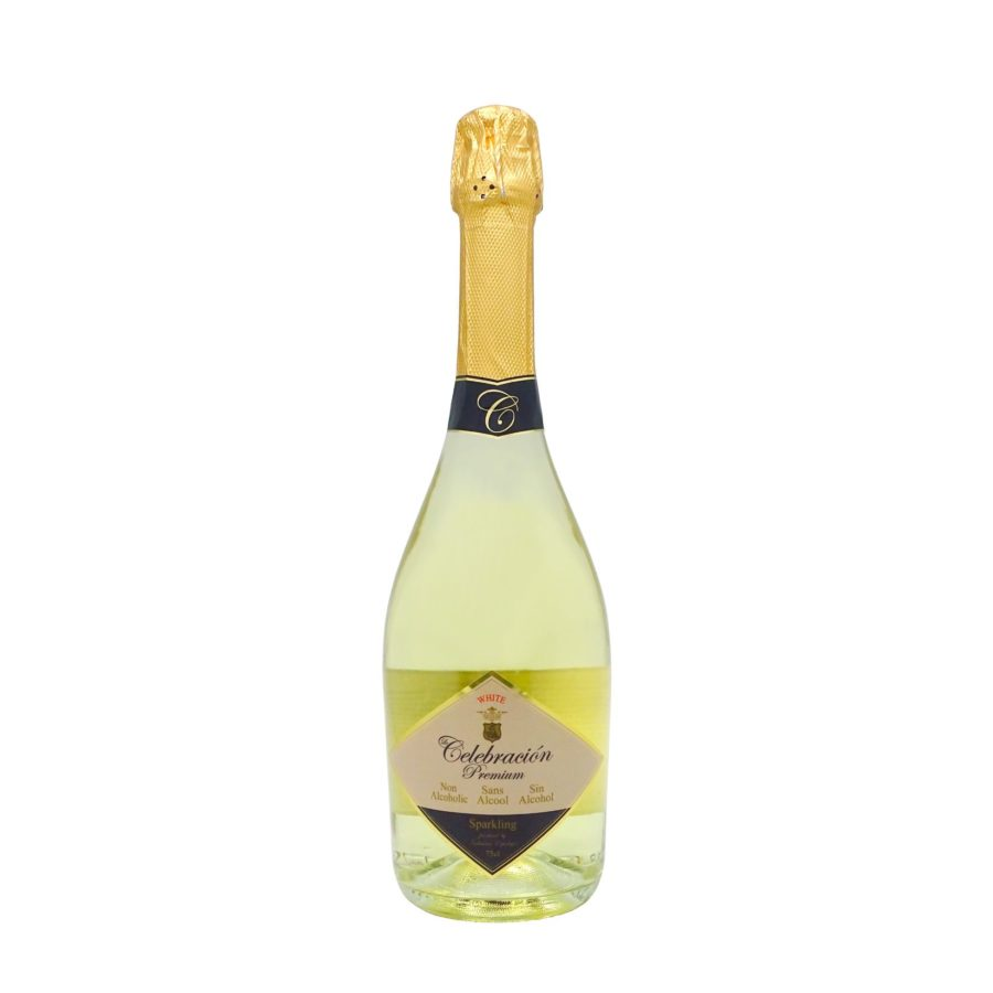 Le Celebration Premium White, 75cl non-alcoholic sparkling drink ideal for special celebrations