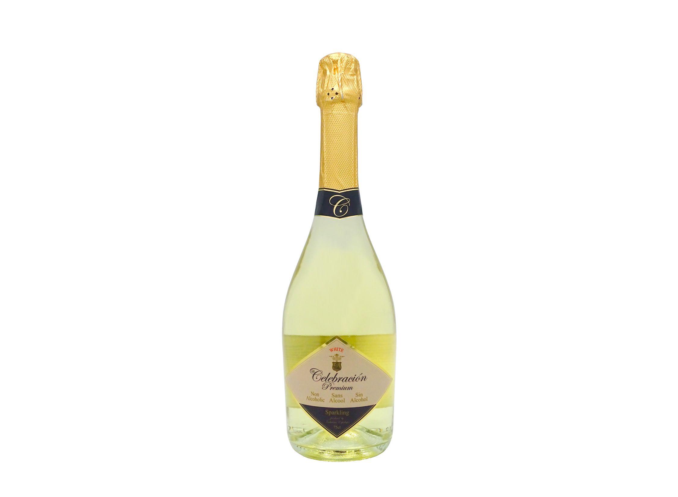 Le Celebración Premium White, bebida espumosa sin alcohol de 75cl ideal para celebraciones especiales