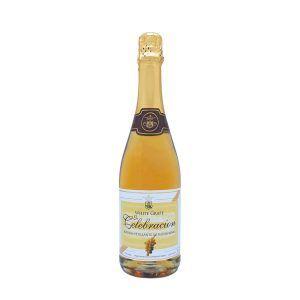 Botella de 75cl de Espumoso de Uva Sin Alcohol marca Le Celebración producido por industrias Espadafor en Granada, España. Disponible para comprar online, en stock listo para envío.