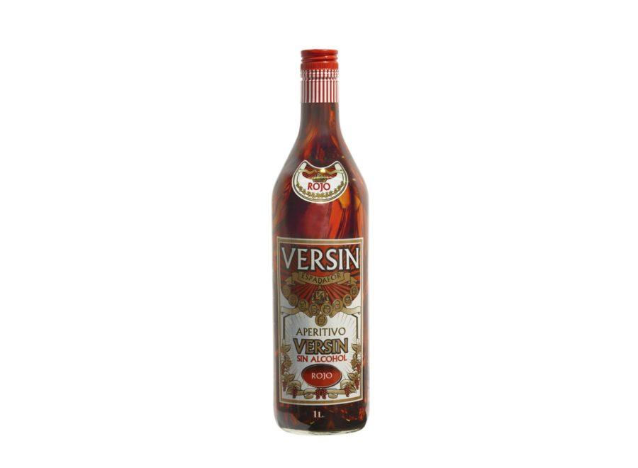 Botella de 1 litro de Versin, producto inspirado en la tradicional bebida Vermut sin alcohol añadido, máximo sabor para disfrutar de un aperitivo sin los inconvenientes de otras bebidas alcohólicas.