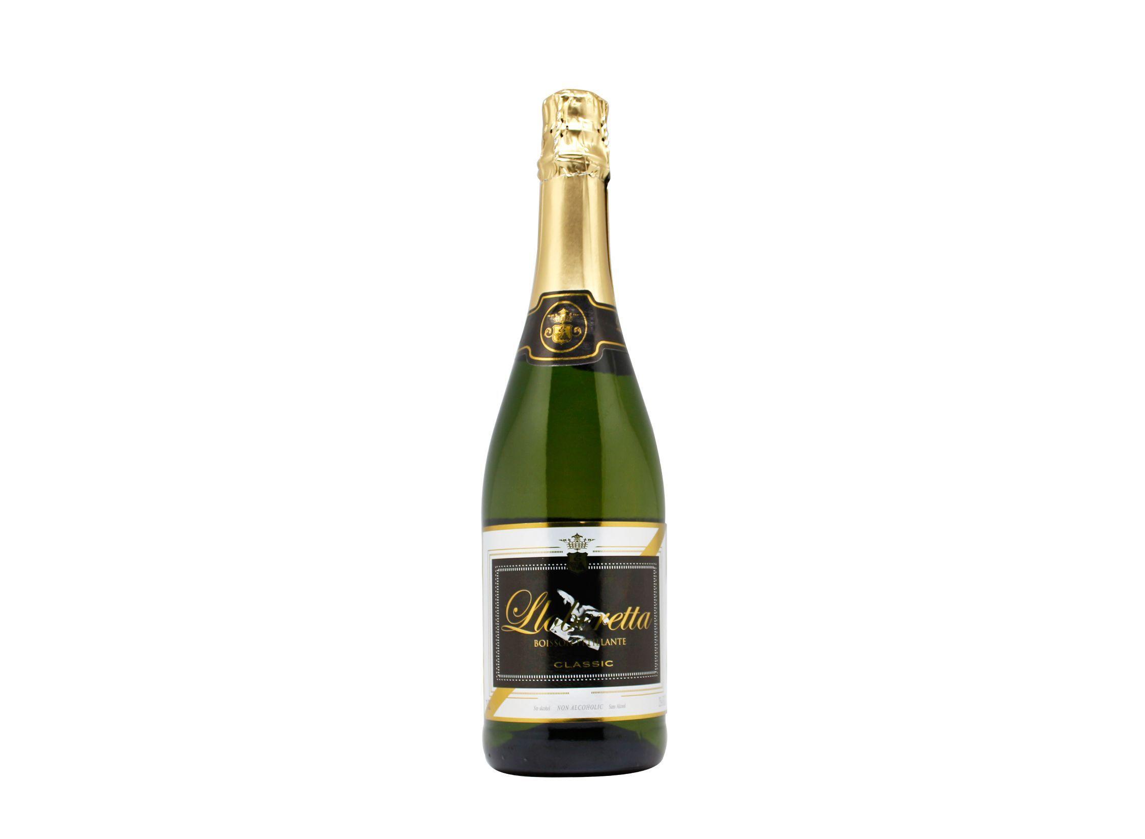 Botella de 75cl Lloberetta una de nuestros grandes clásicos. Bebida espumosa inspirada en cava sin alcohol elaborada a partir de la fruta de la pasión. Producto fabricado en Granada, España. En stock listo para enviar.