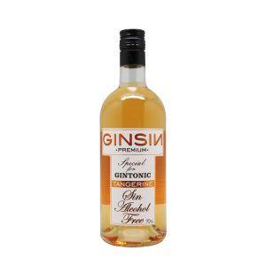 GINSIN PREMIUM TANGERINE es una bebida sin alcohol inspirada en la ginebra sin alcohol, utiliza los mismos ingredientes de la misma pero macerando los ingredientes por lo que no existe destilación ni fermentación, obteniendo un producto 0,0.