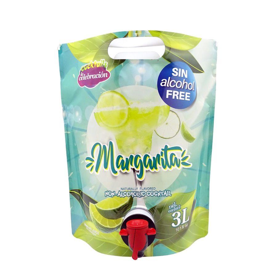 bolsa de 3 litros con grifo de coctel margarita sin alcohol
