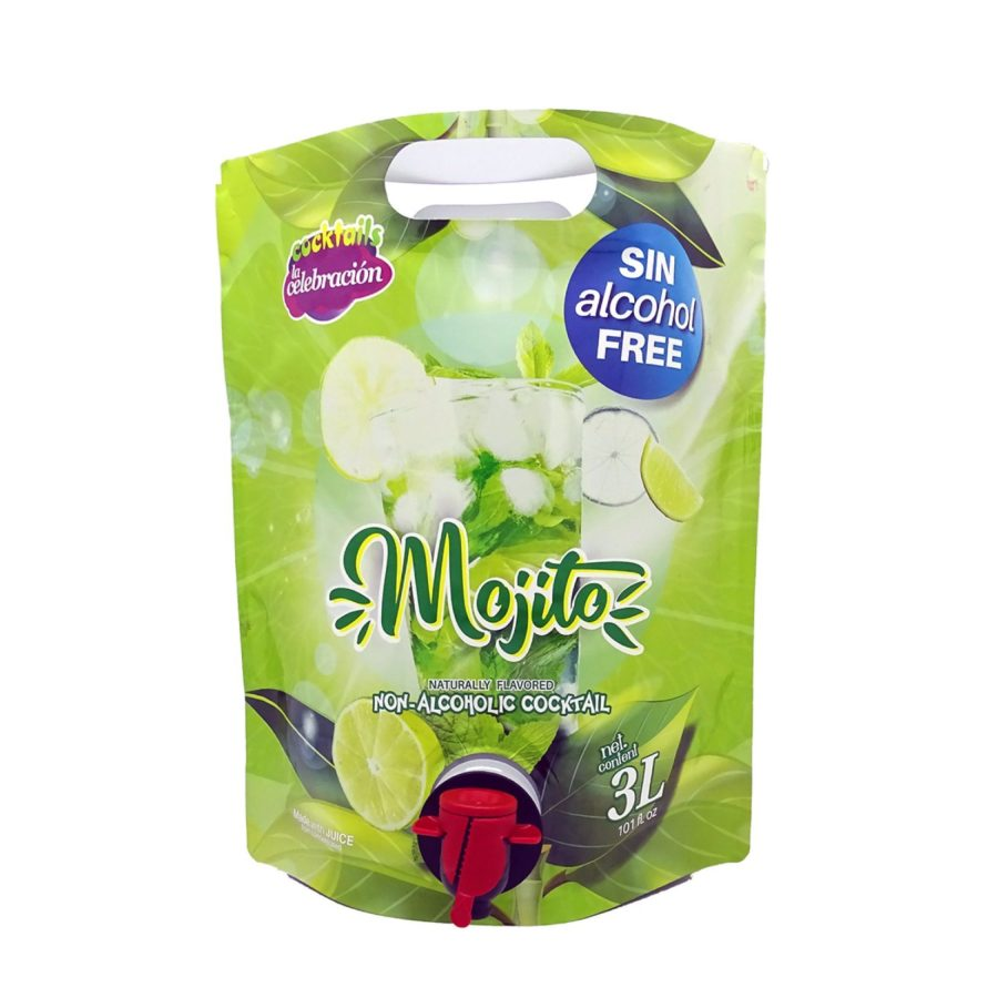 non-alcoholic Mojito in 3-litre bag format with tap.