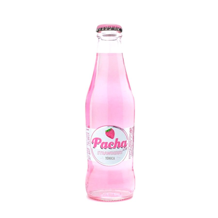PachaSIN Strawberry Tonic, ideal for gins, enjoy some irresistible mixes with this drink, try it! In stock.