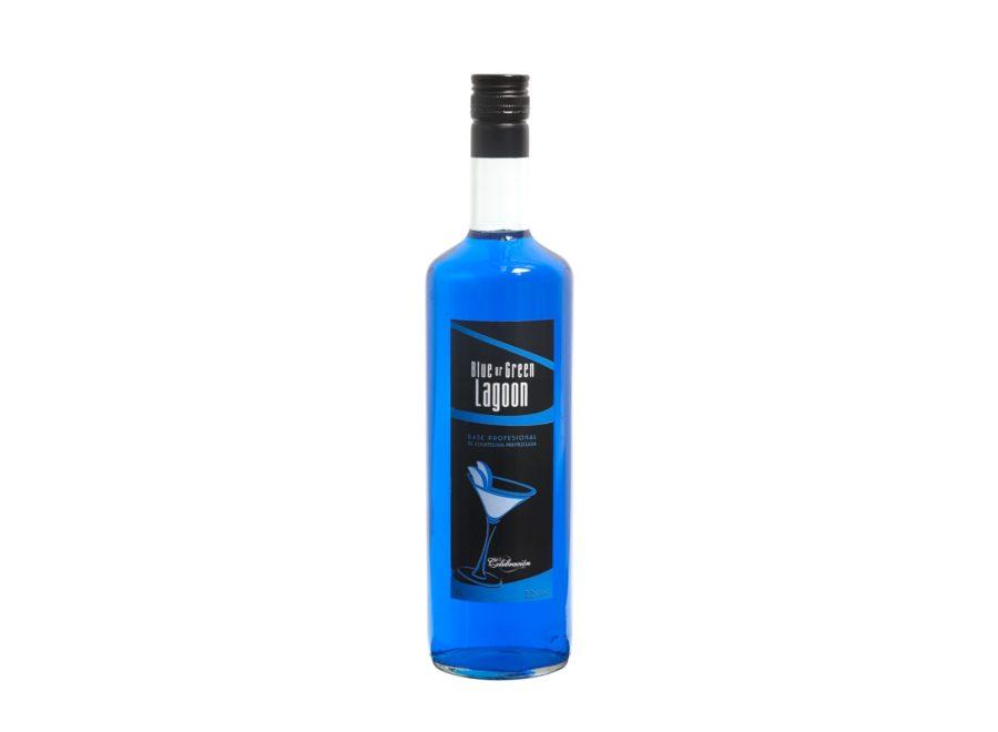 bebida de 1 litro de base profesional de blue and green lagoon para cocteria. Pensado para que los profesionales ganen en velocidad y agilidad en la creación de cocteles sin eliminar la creatividad