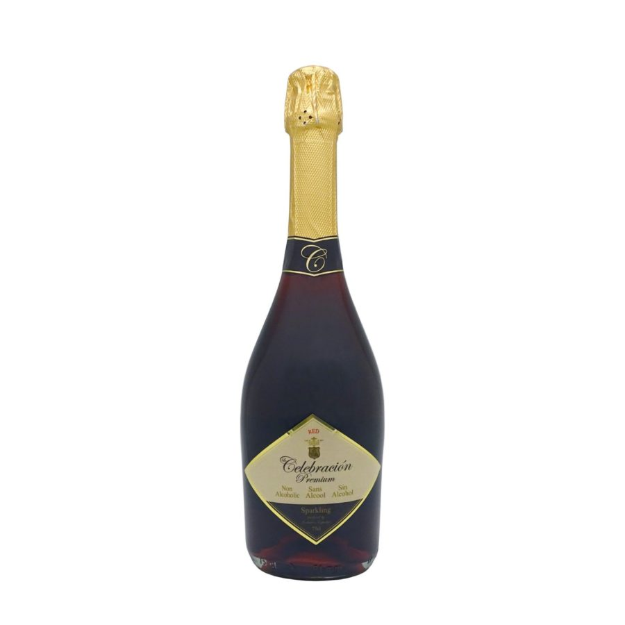 Le Celebration Premium Red, 75cl non-alcoholic sparkling drink ideal for special celebrations now in intense red colour and delicious taste