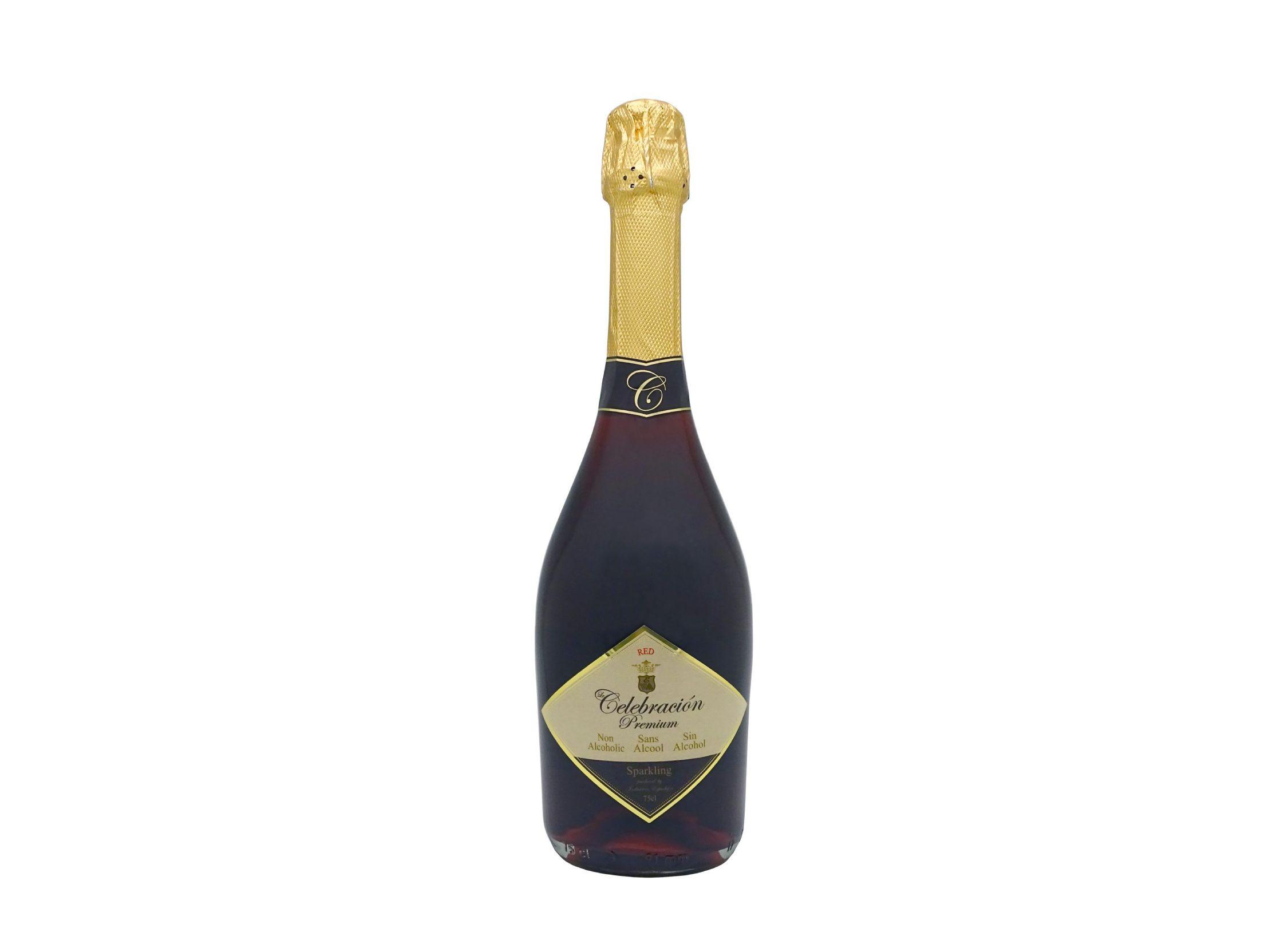 Le Celebración Premium Red, bebida espumosa sin alcohol de 75cl ideal para celebraciones especiales ahora en intenso color rojo y de delicoso sabor