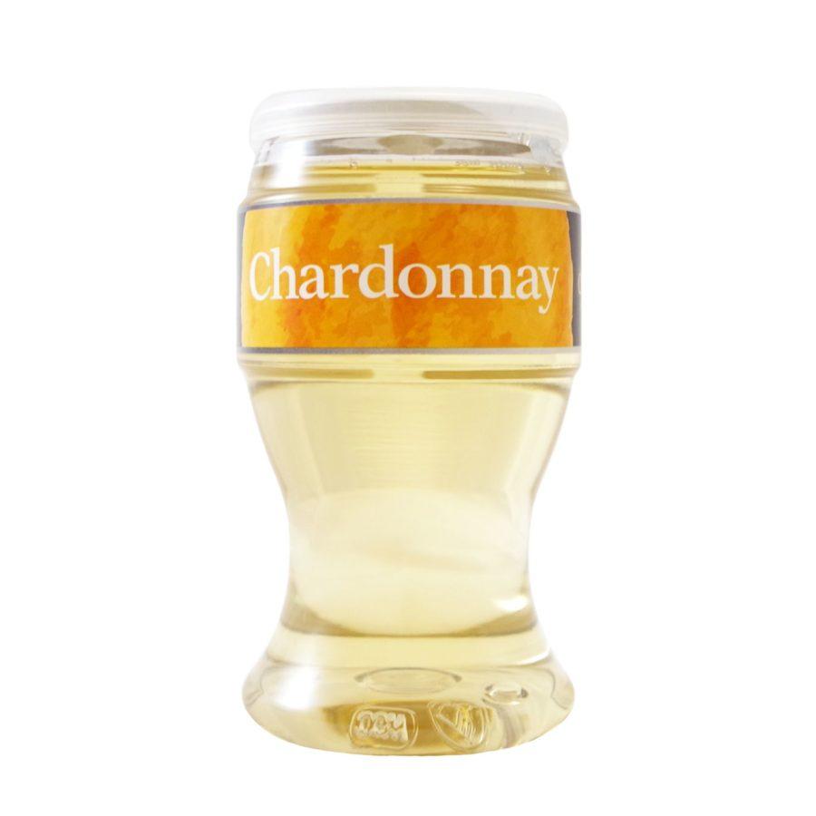 Copa de vino chardonnay marca miovino chardonnay, la copa que va contigo. Producto fabricado en Granada por Industrias Espadafor