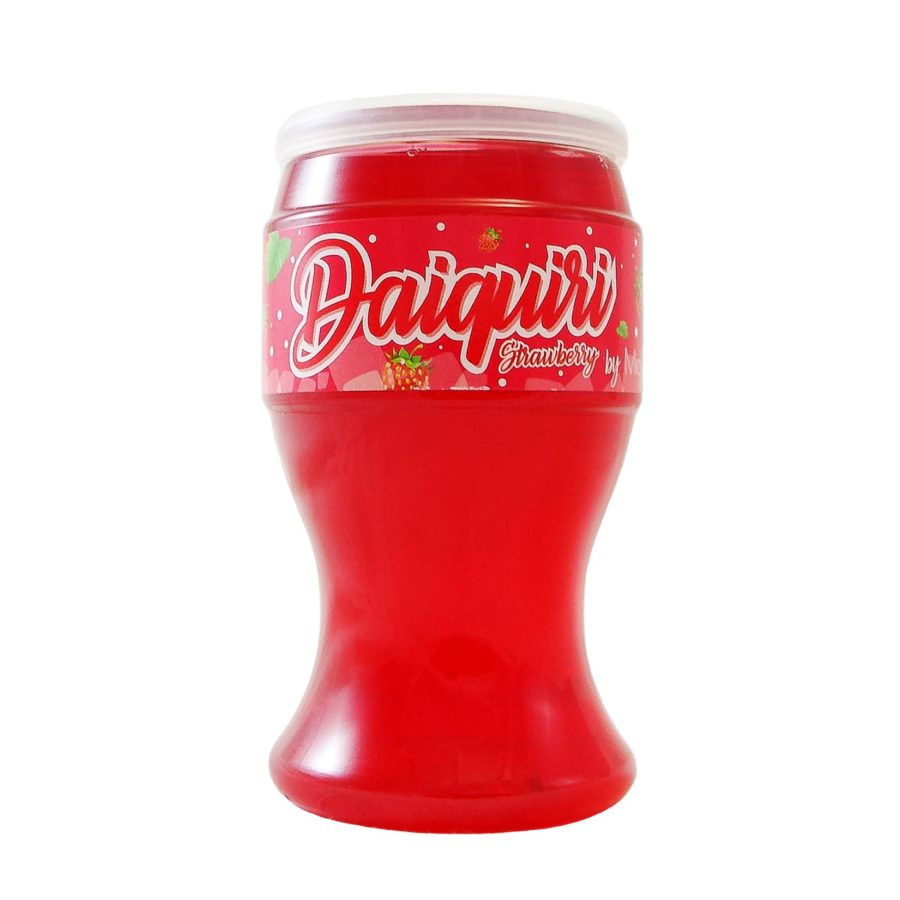 Copa de Miovino Daiquiri una bebida en vaso de 200ml para llevar lista para tomar en cualquier momento y lugar