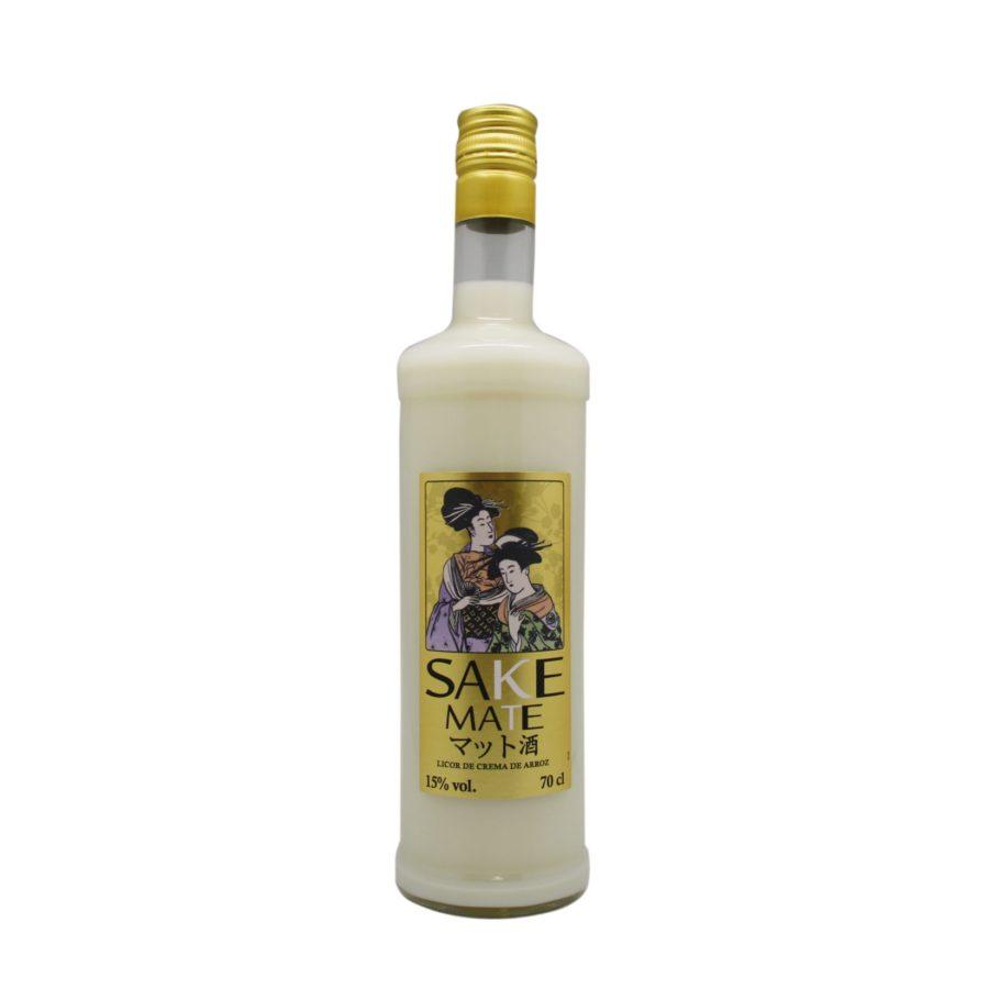 Botella de 70cl de licor de Sake Mate, producto fabricado en Granada, España, en stock listo para enviar