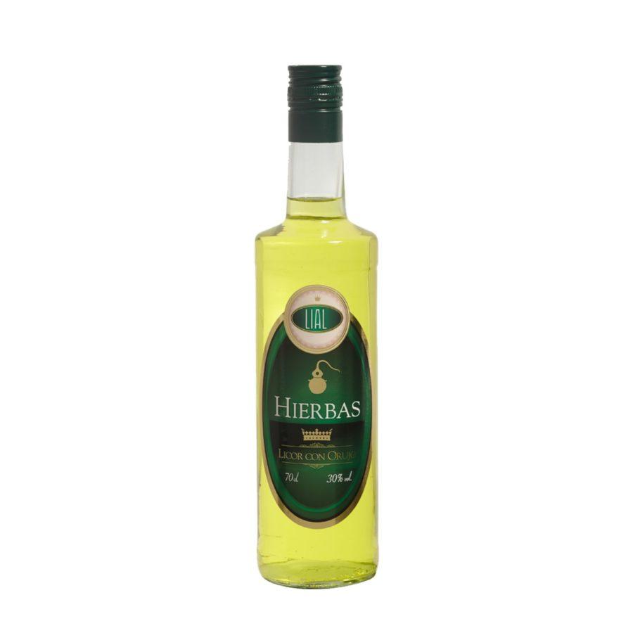orujo de hierbas, bebida de licor de hierbas con orujo lial