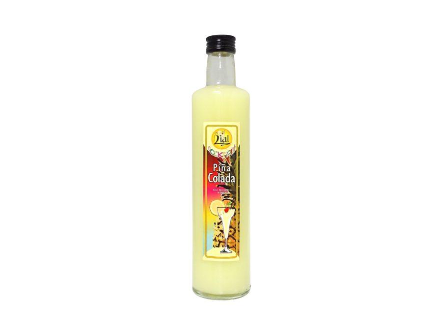 botella de medio litro de base profesional de coctelería de piña colada