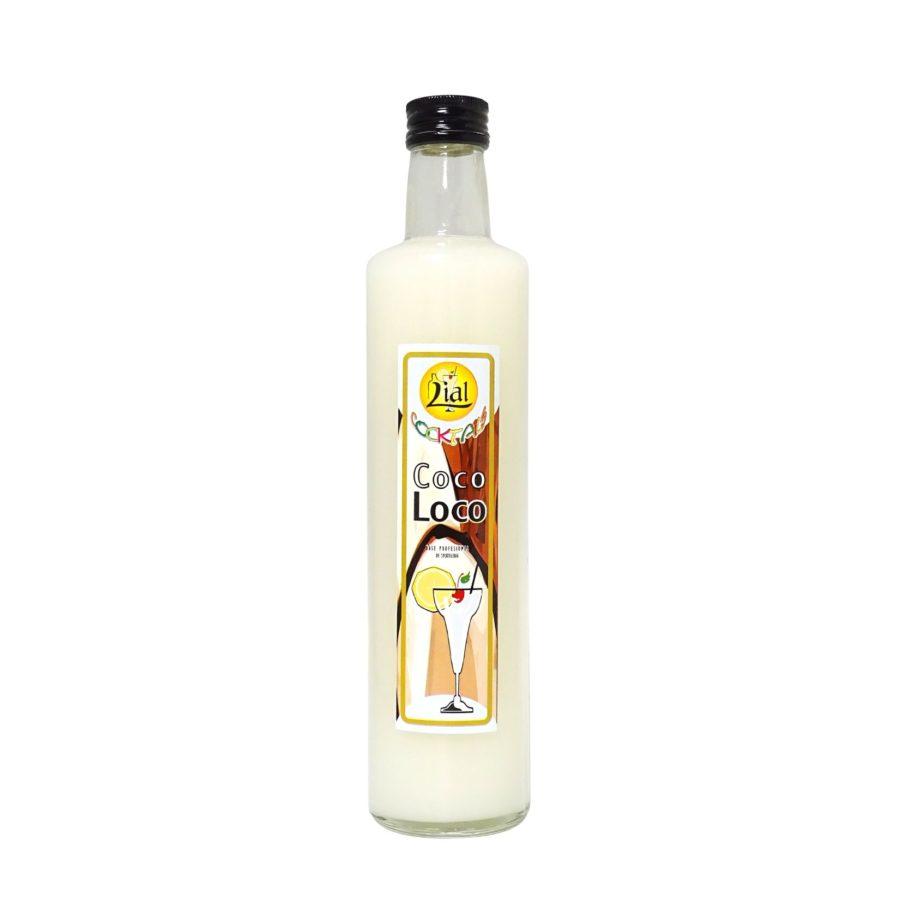 botella de medio litro de base profesional de coctelería para coco loco