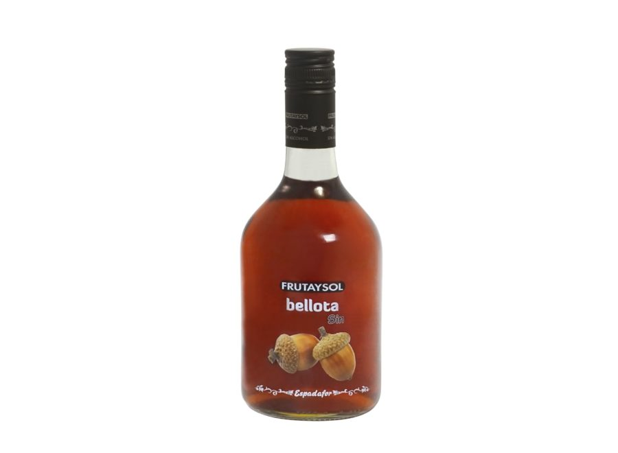 70cl bottle Frutaysol acorn, a drink inspired by non-alcoholic acorn liquor